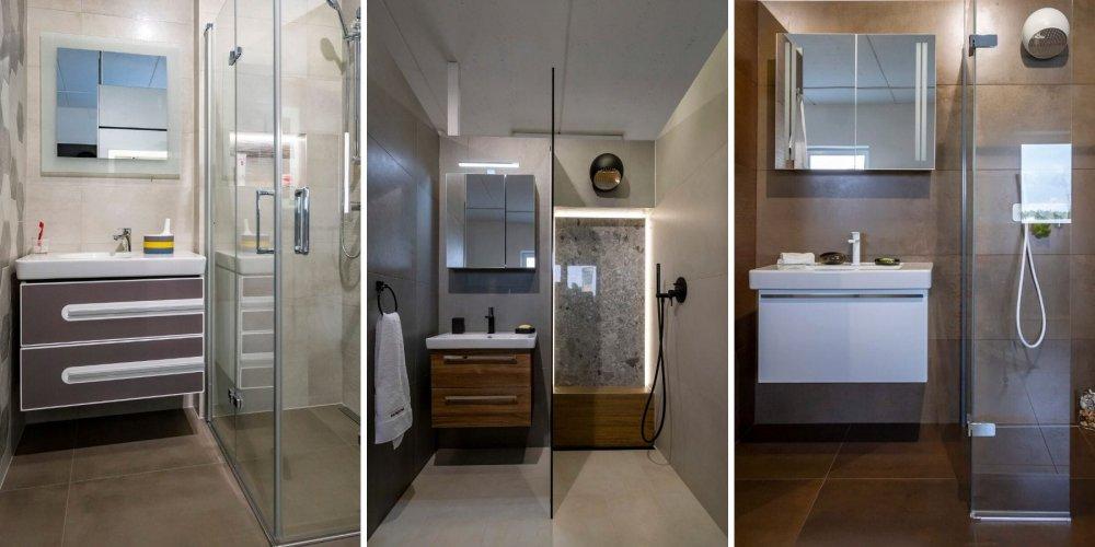 Tři malé koupelny pro vaši inspiraci