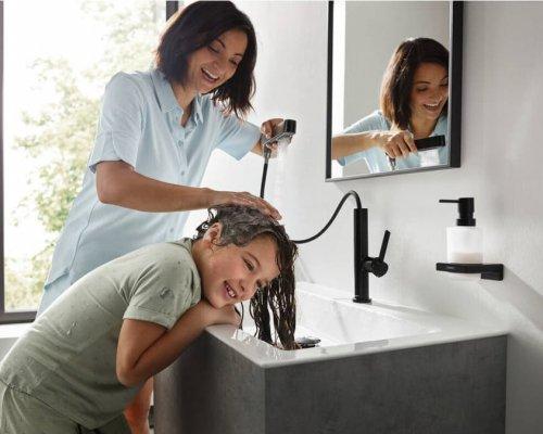 Umyvadlová baterie Finoris – nový pomocník do koupelny pro celou rodinu