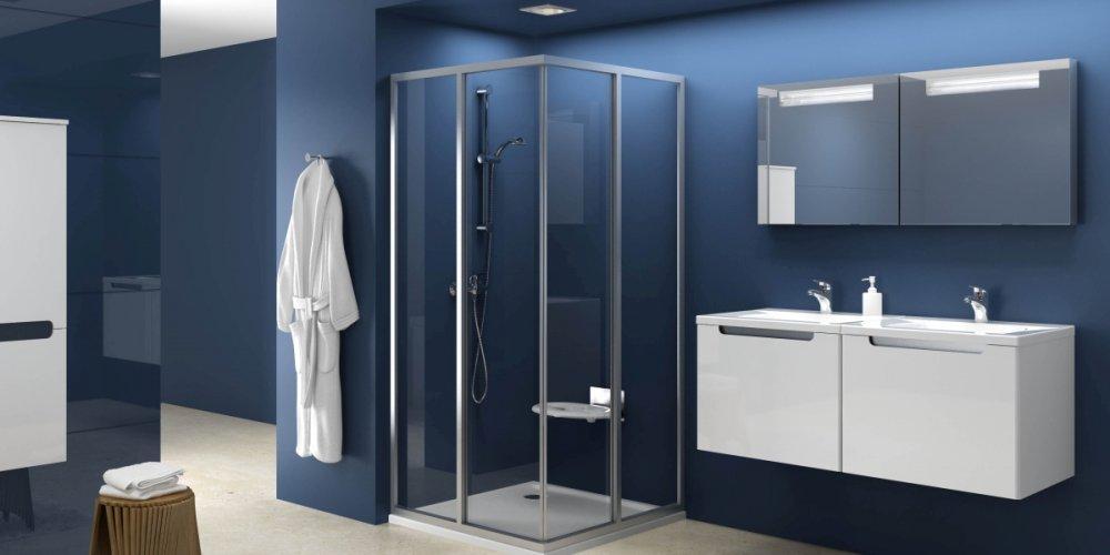 Sprchové kouty nejen do malých koupelen