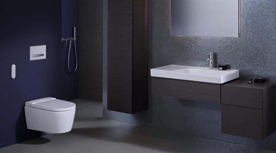 GEBERIT přichází s novinkou v oblasti sprchovacích klozetů AquaClean