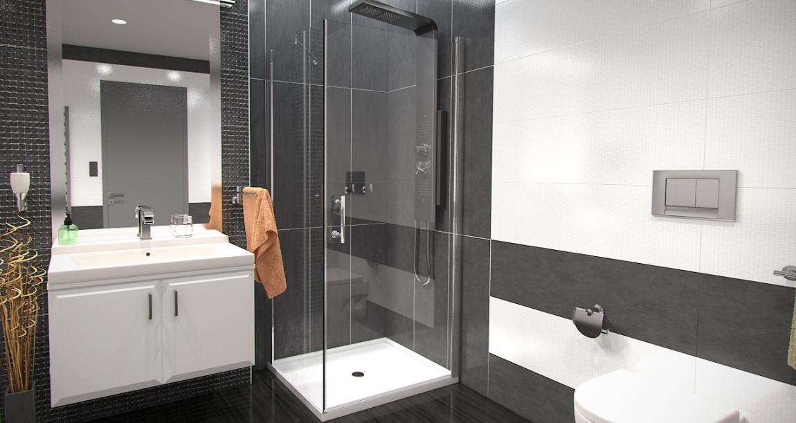 Pevné sprchové zástěny