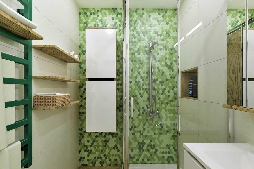 Velká proměna malé koupelny