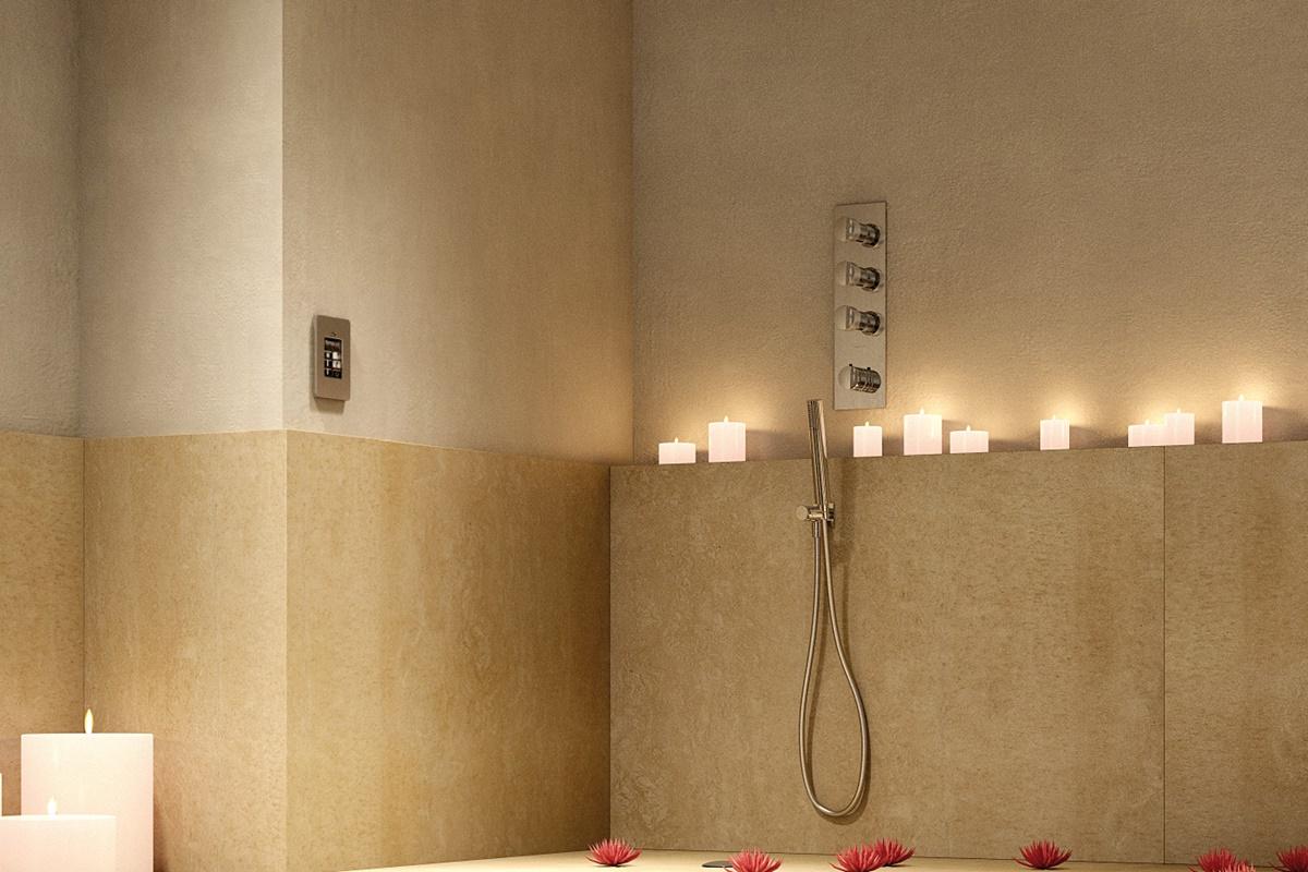 Typy sprchových baterií z hlediska umístění