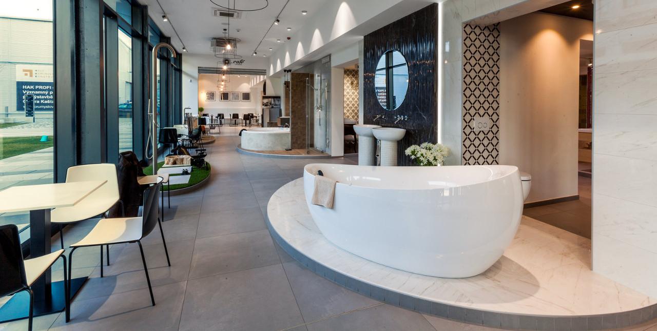 Showroom koupelen Brno