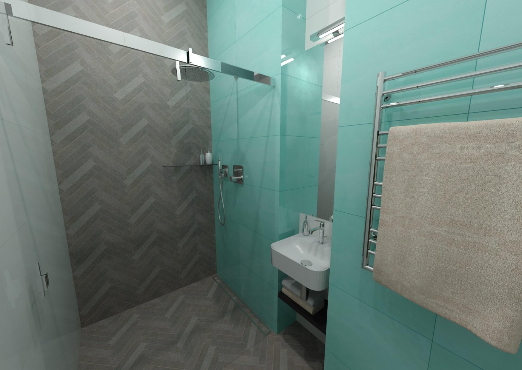 Malá koupelna 1