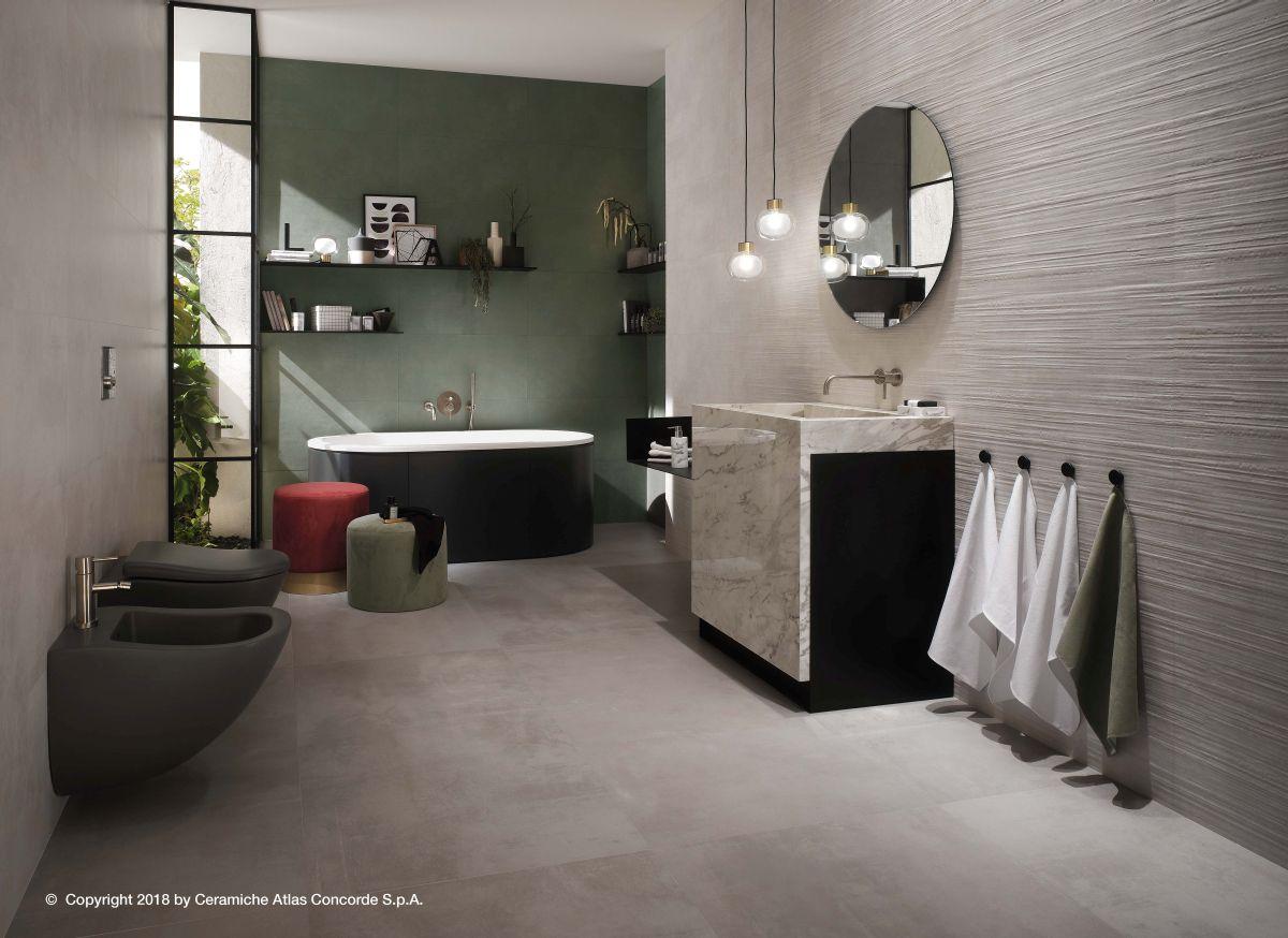 Velkoformátová dlažba v koupelně 3