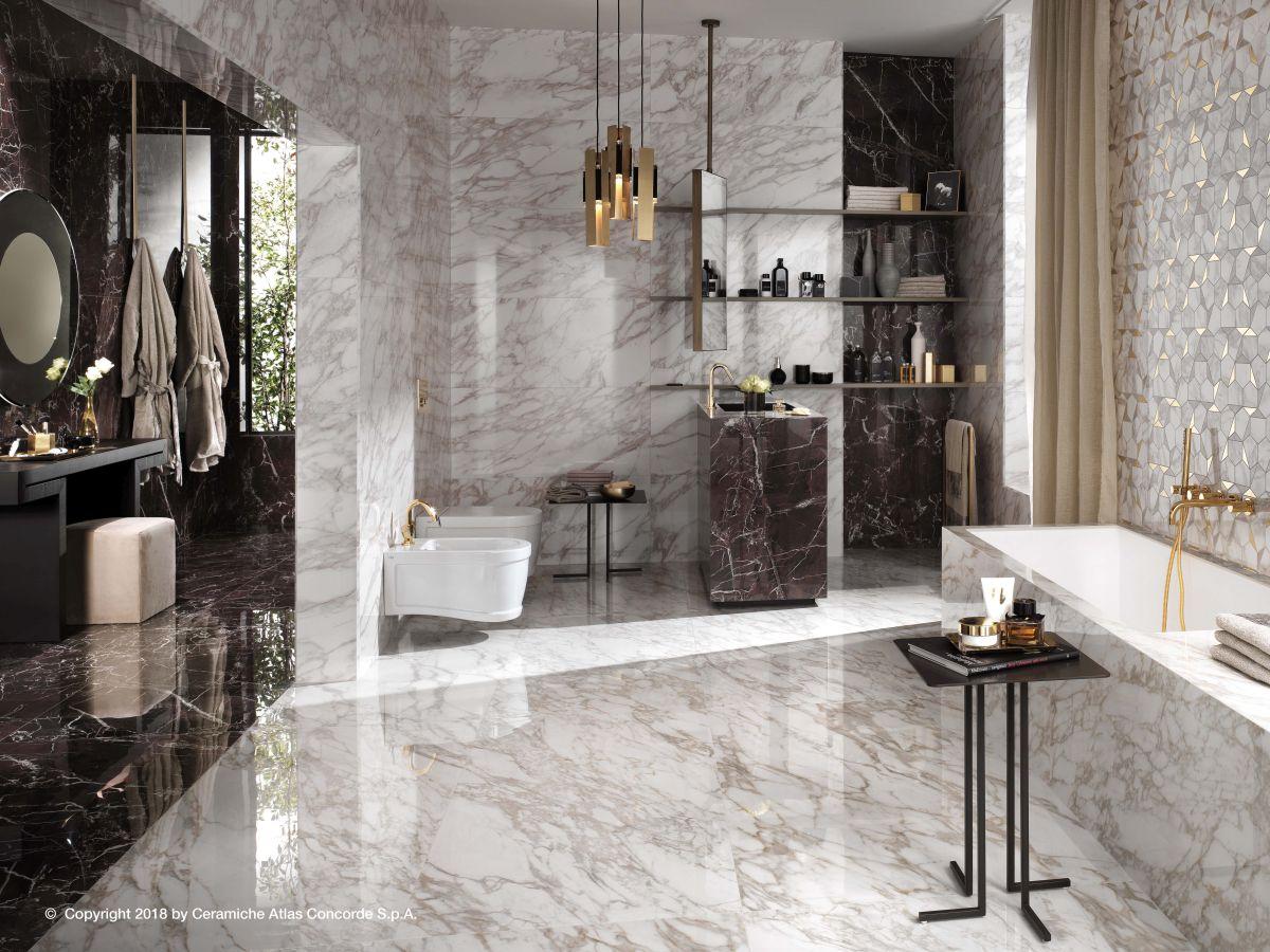 Velkoformátová dlažba v koupelně 8