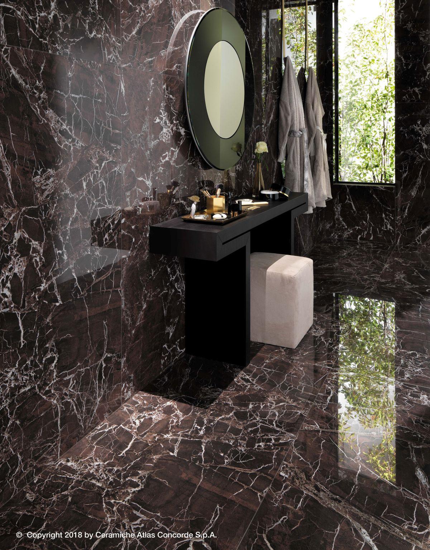 Velkoformátová dlažba v koupelně 9