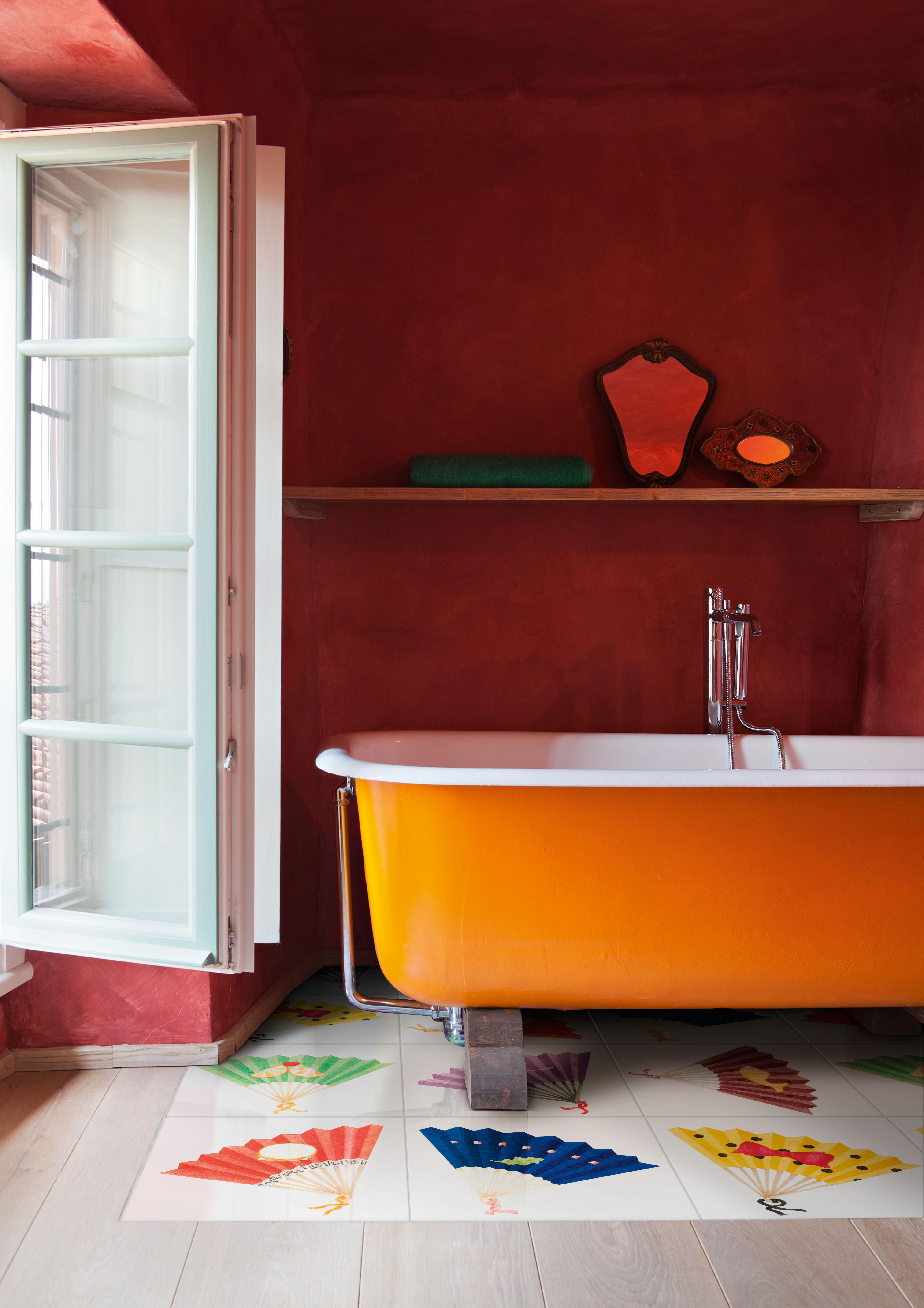 Koupelna ve venkovském stylu 1