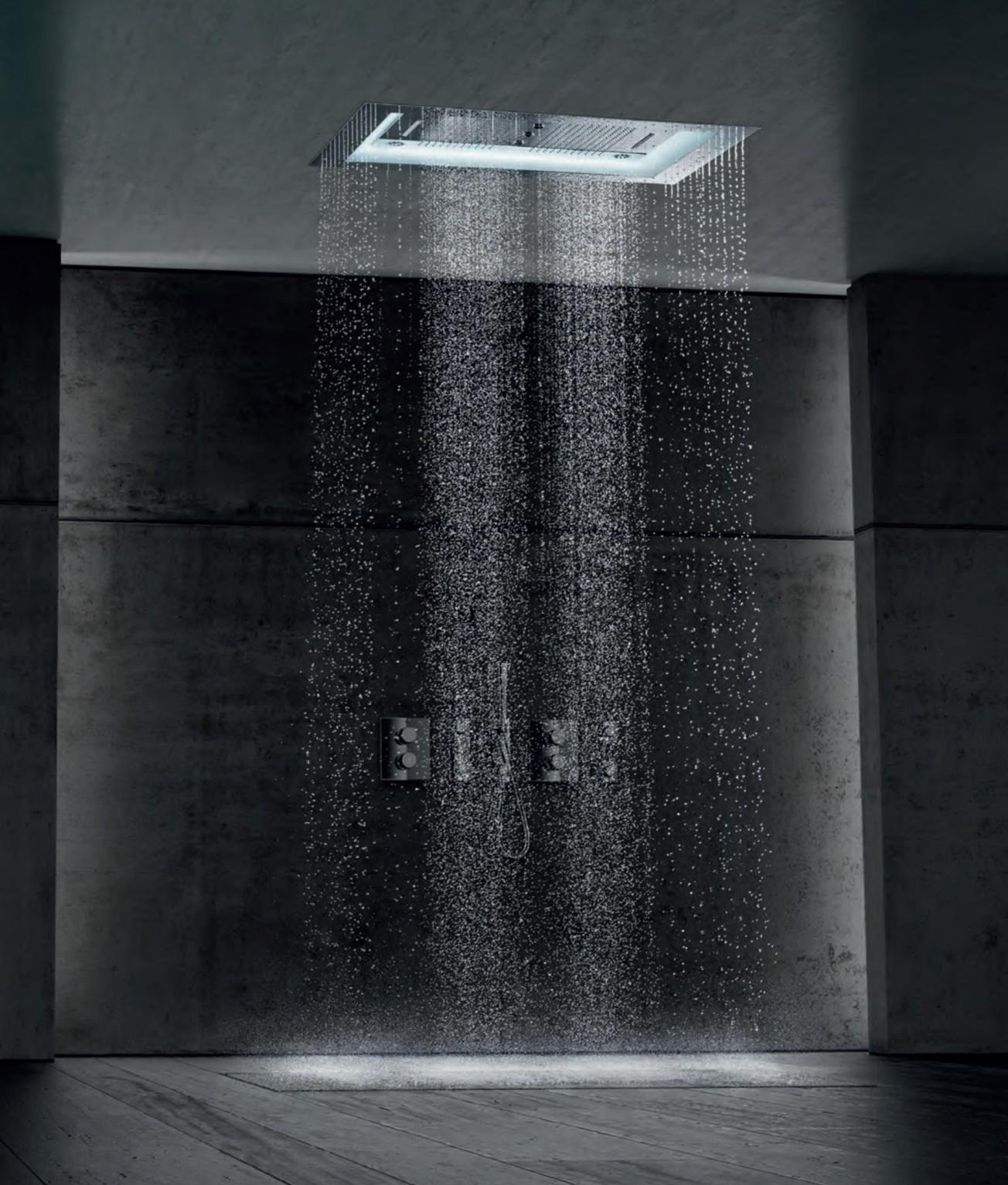 Typy sprchových baterií z hlediska umístění 1