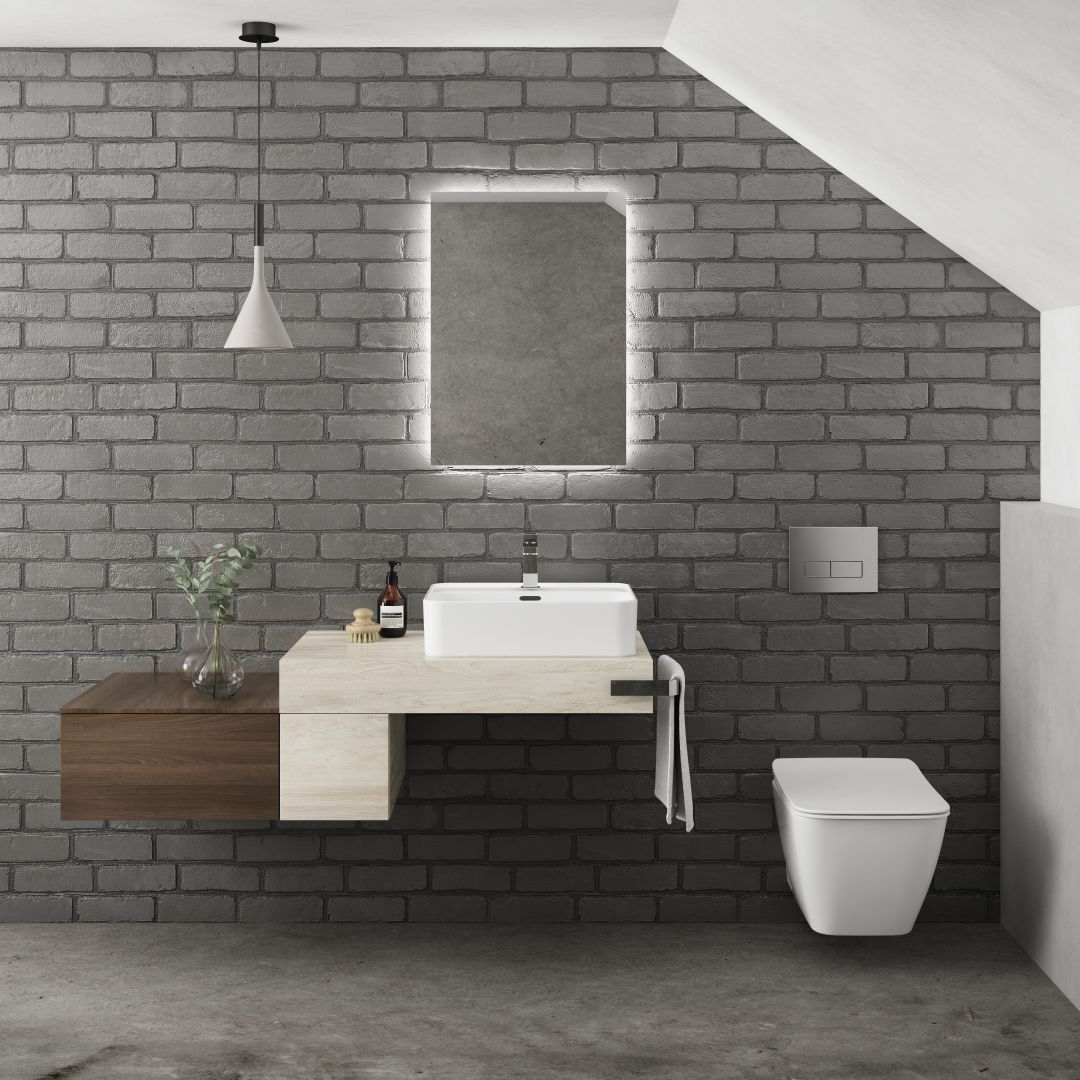 Minimalistická hranatá umyvadla pro vaši koupelnu 10