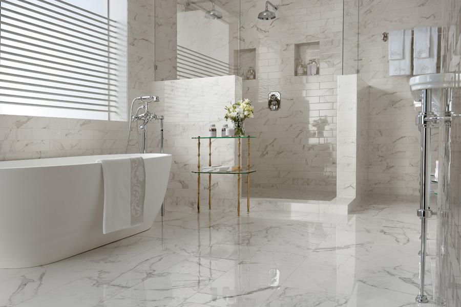 Bílá koupelna 2