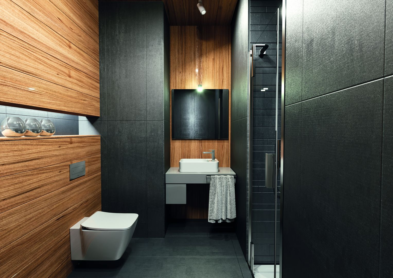Dřevěná koupelna 1
