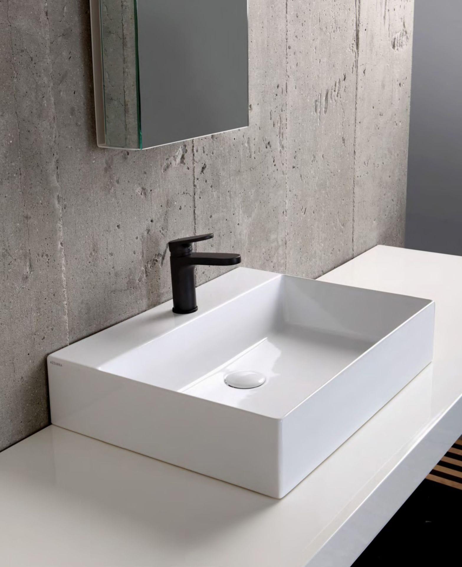 Minimalistická hranatá umyvadla pro vaši koupelnu 0