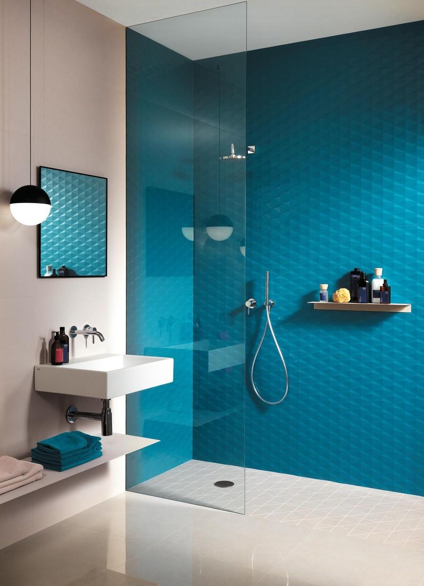 Designové 3D obklady do koupelny 1
