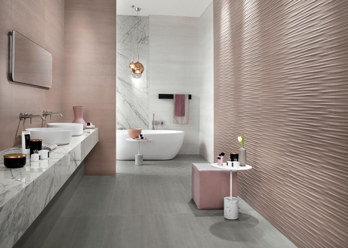 Designové 3D obklady do koupelny 2