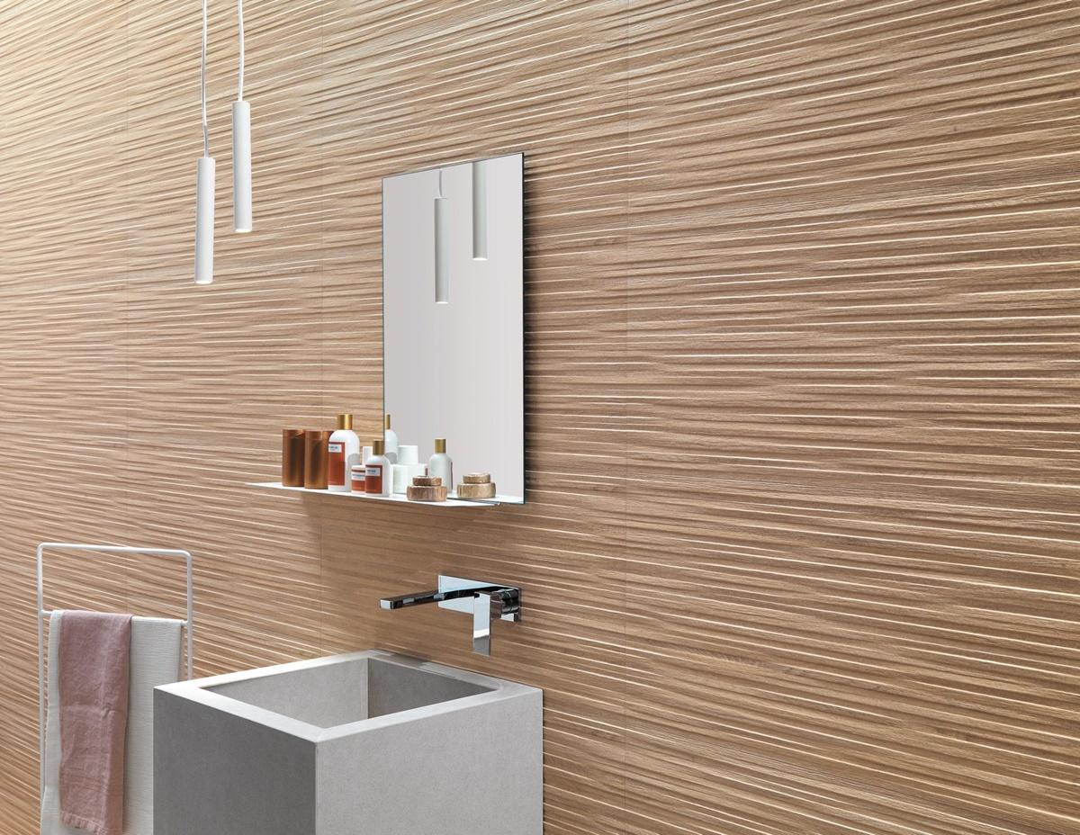 Designové 3D obklady do koupelny 3