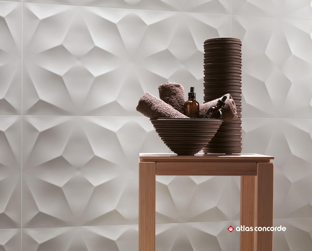 Designové 3D obklady do koupelny 11