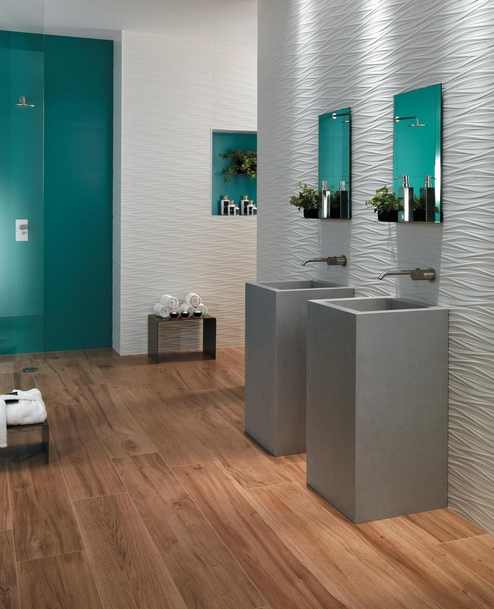 Designové 3D obklady do koupelny 7