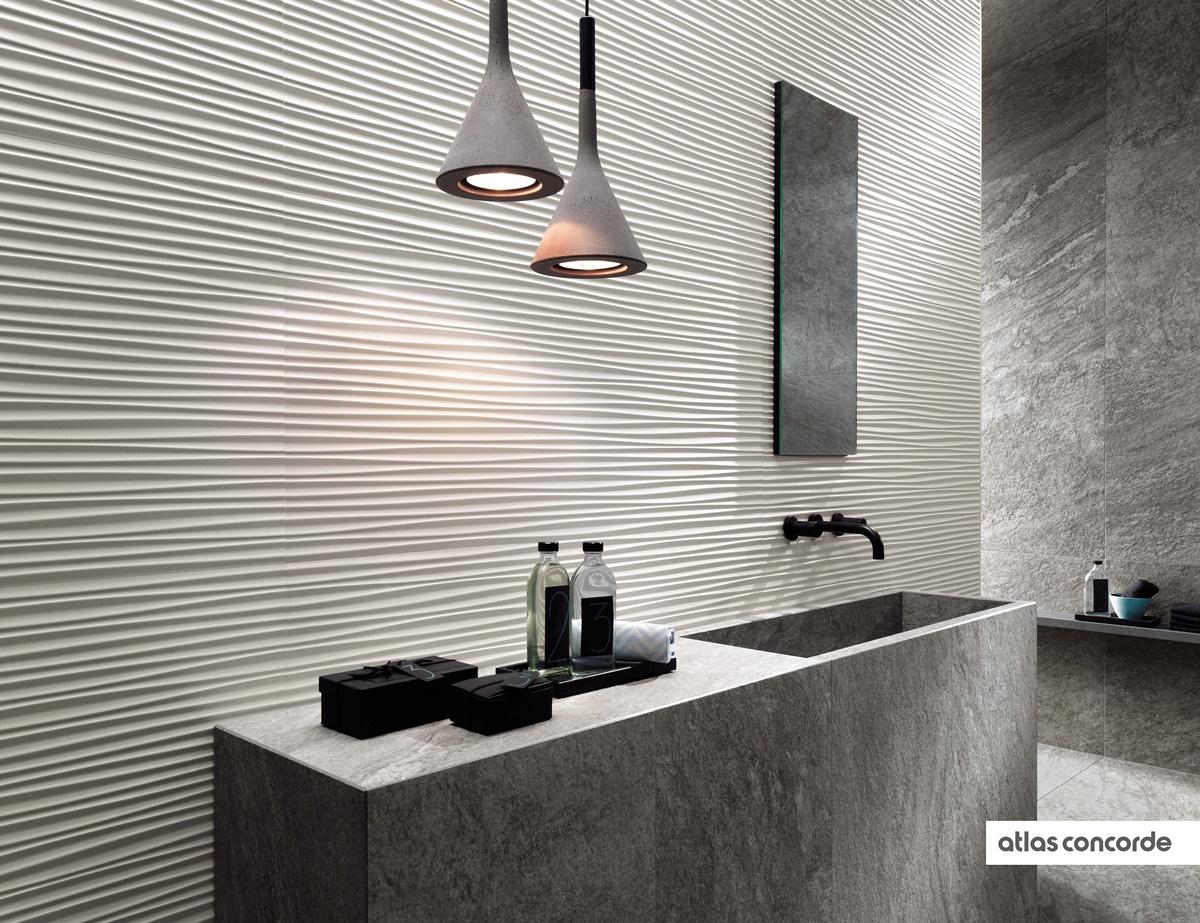 Designové 3D obklady do koupelny 9