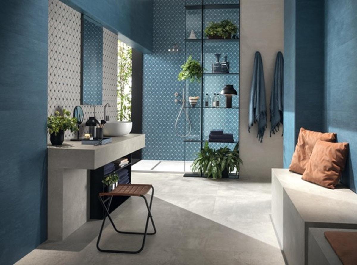 Azurová koupelna 8