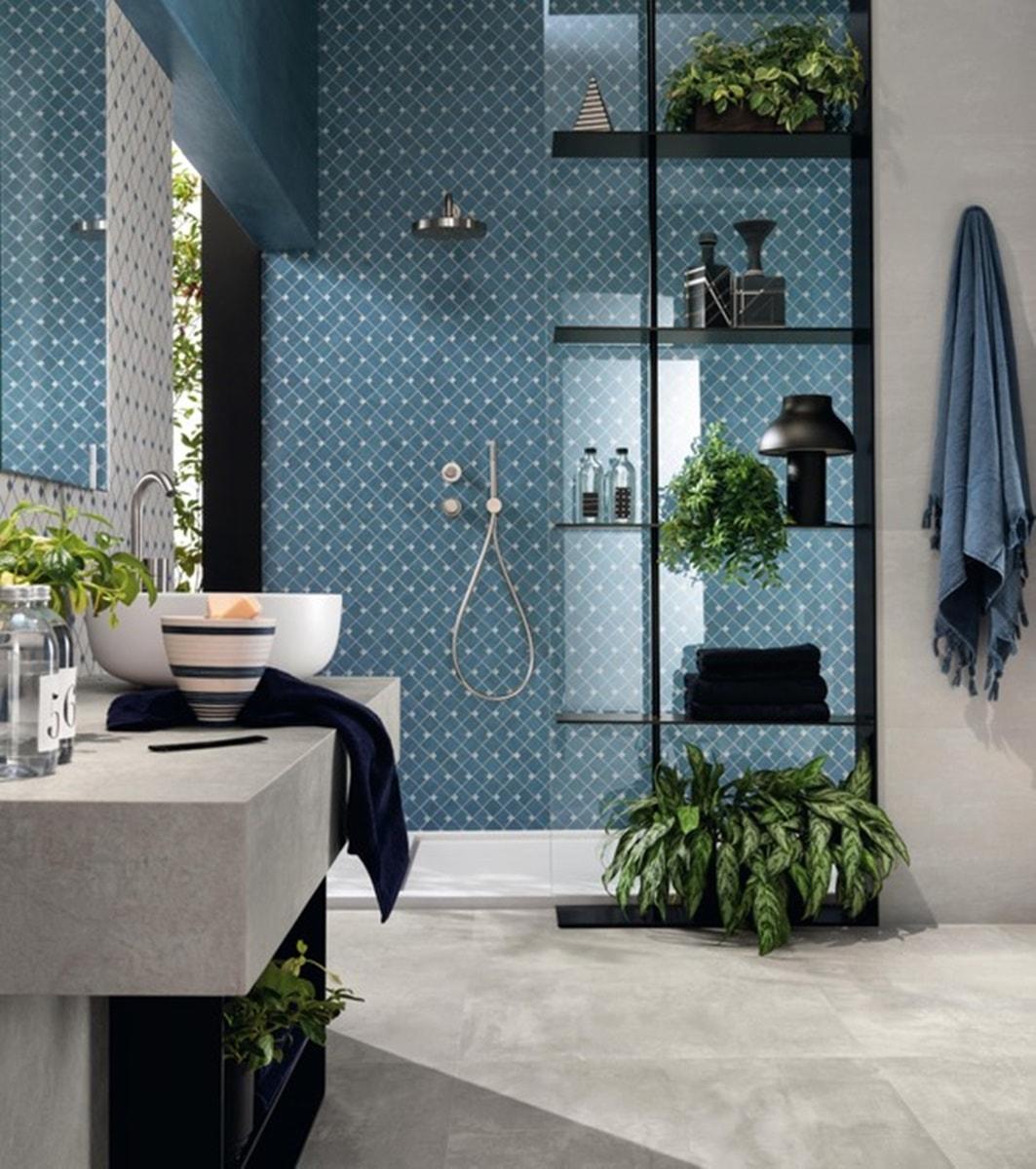 Azurová koupelna 12