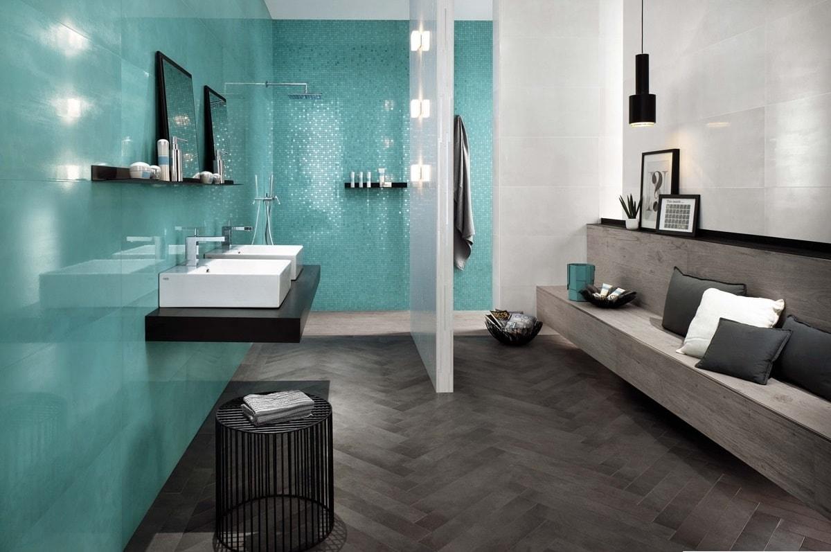 Azurová koupelna 16
