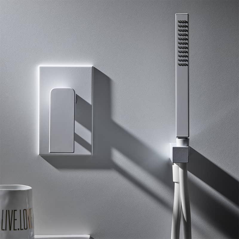 Jaká je správná výška pro instalaci sprchových baterií a hlavic? 0
