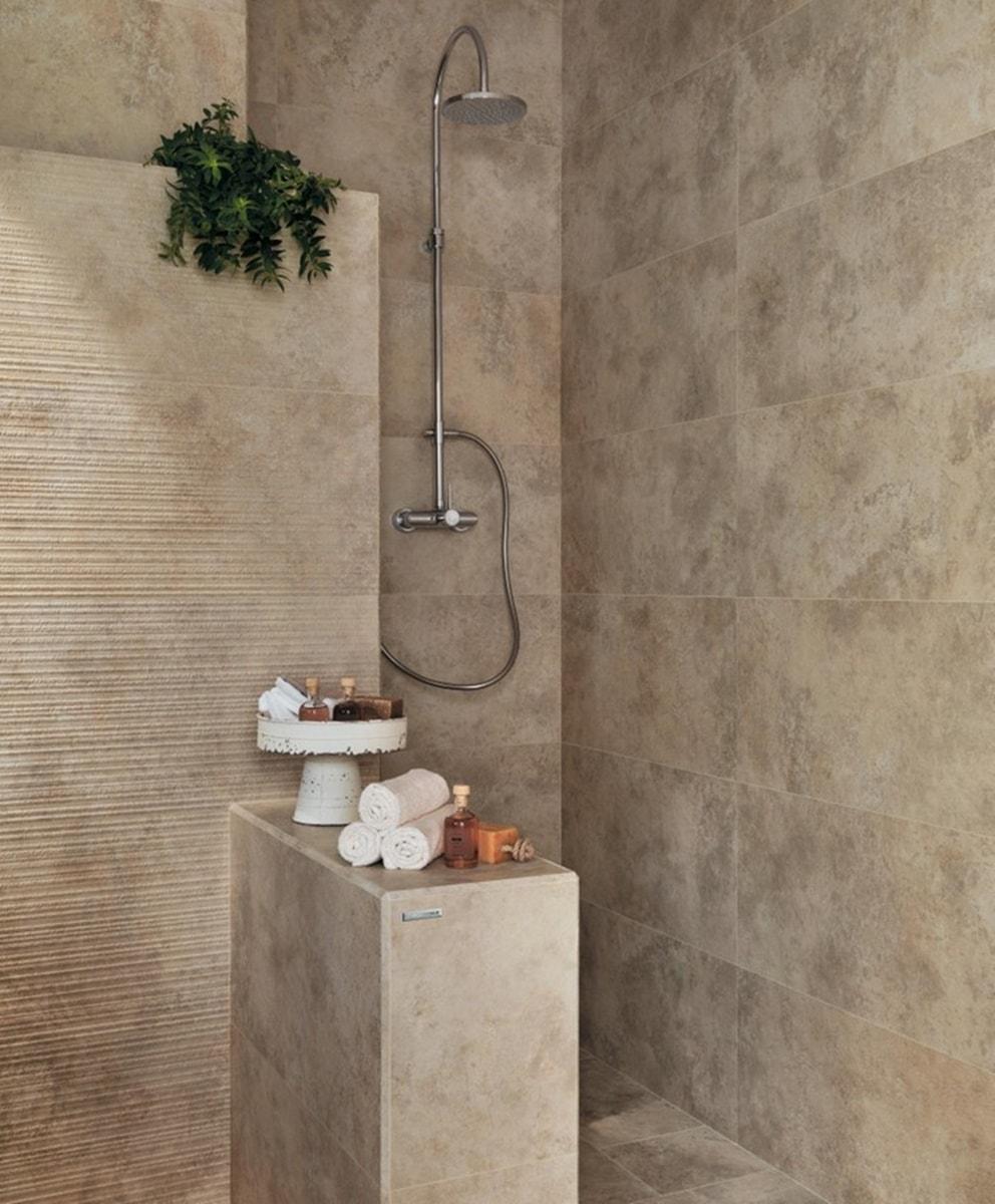 Béžová koupelna 1