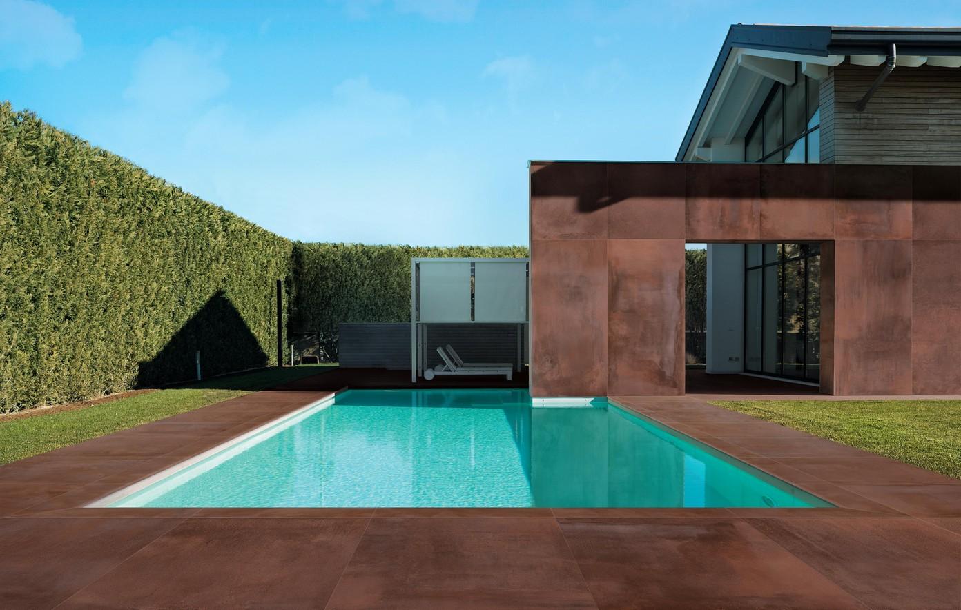 Dokonalá dlažba kolem bazénu 2