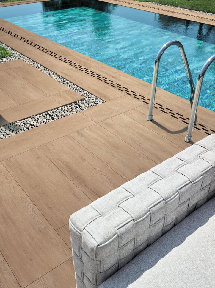 Dokonalá dlažba kolem bazénu 8