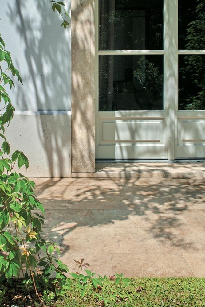 Pokládka dlažby 2 cm na zahradu do trávy, písku nebo štěrku 12