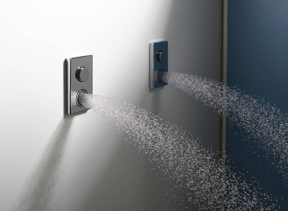 Jaká je správná výška pro instalaci sprchových baterií a hlavic? 11