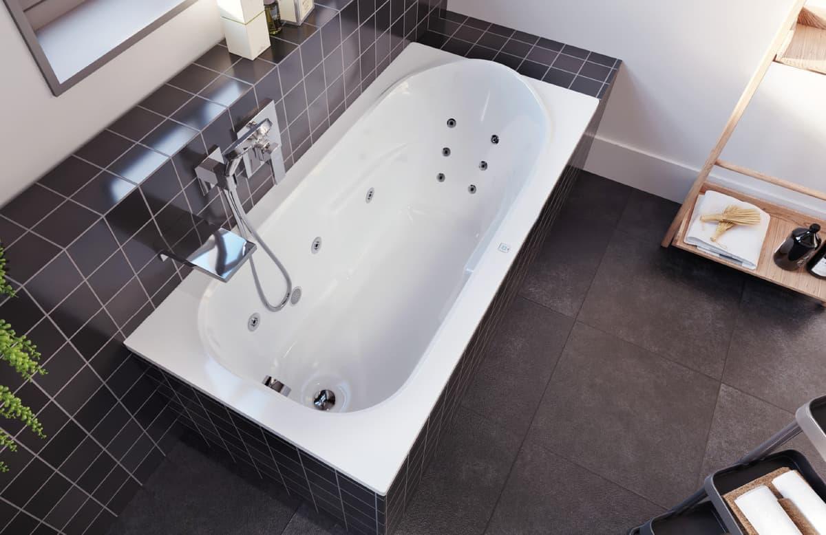 Masážní vana - wellness ve vlastní koupelně  8