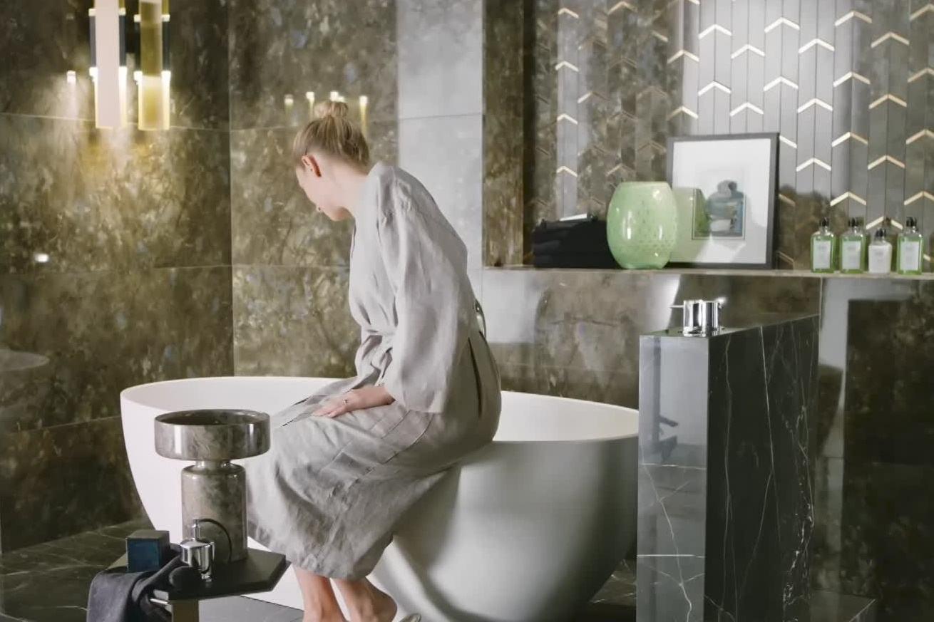Mramor v koupelně 0