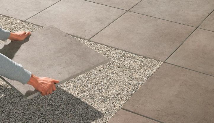 Pokládka dlažby 2 cm na zahradu do trávy, písku nebo štěrku 1