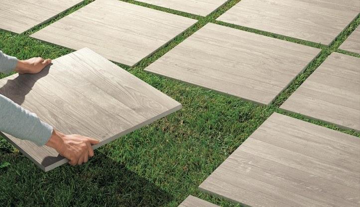 Pokládka dlažby 2 cm na zahradu do trávy, písku nebo štěrku 0