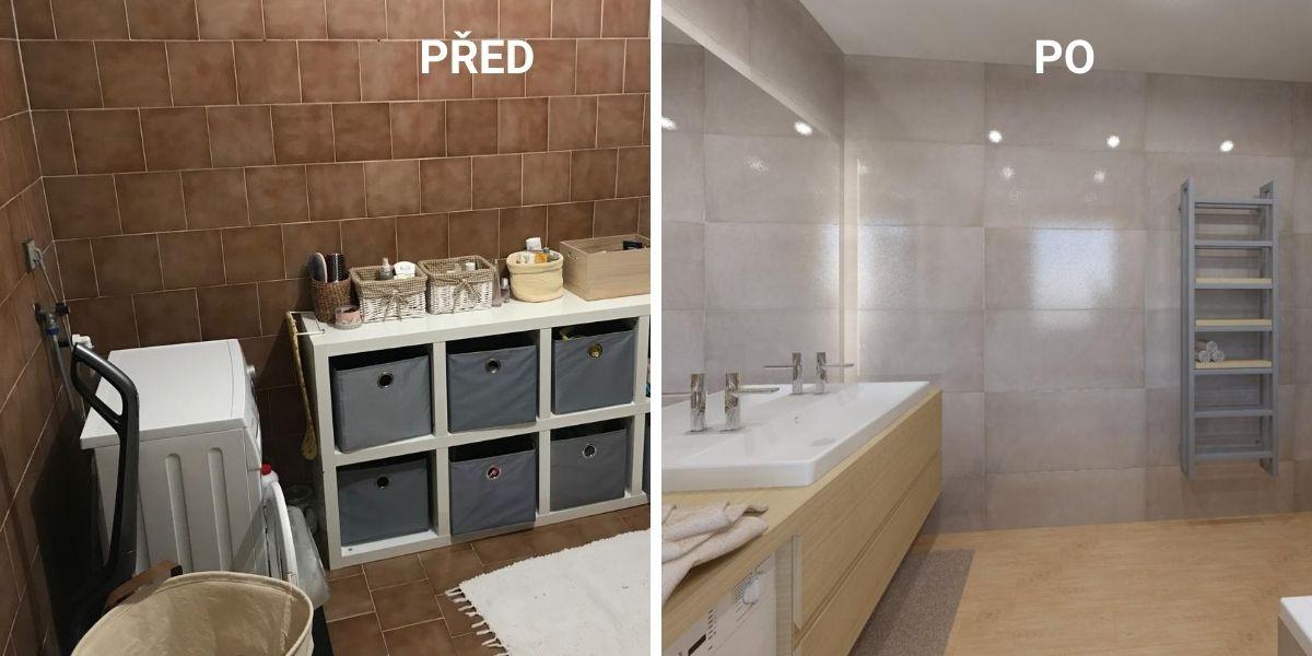 Proměna koupelny aneb PŘED a PO 4