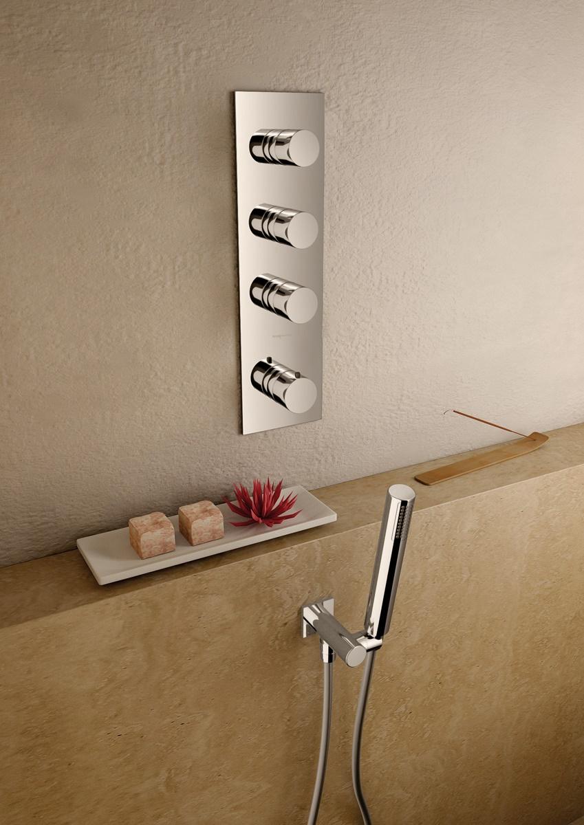 Typy sprchových baterií z hlediska umístění 3