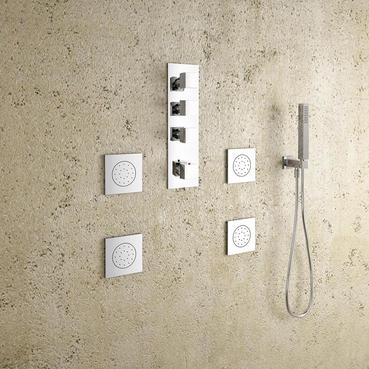 Typy sprchových baterií z hlediska umístění 5