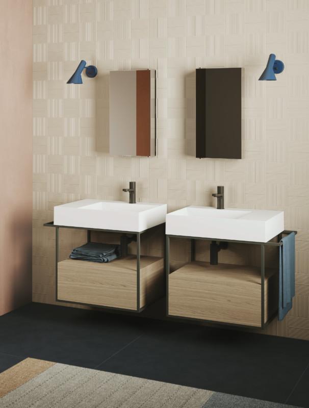 Minimalistická hranatá umyvadla pro vaši koupelnu 2