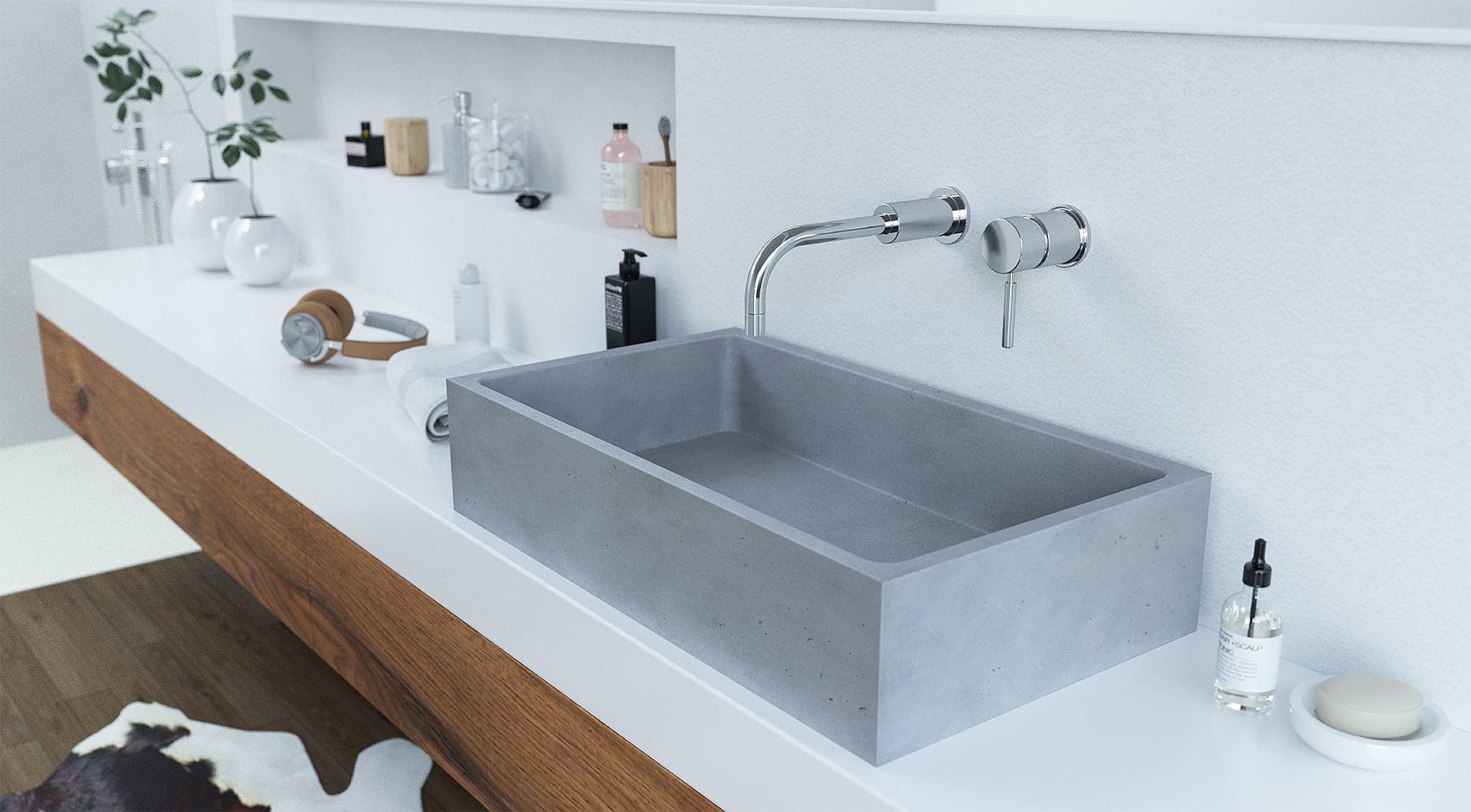 Minimalistická hranatá umyvadla pro vaši koupelnu 3
