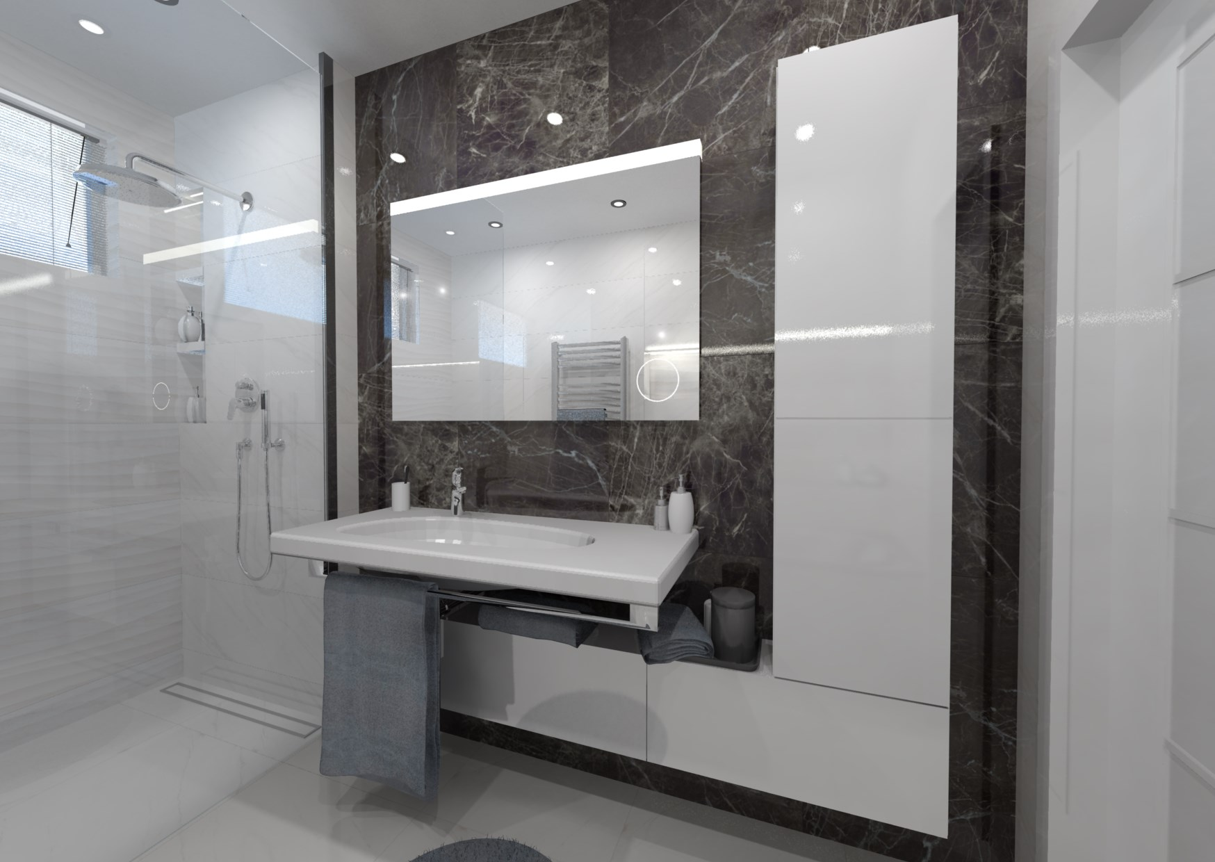 5 tipů pro malou koupelnu 4