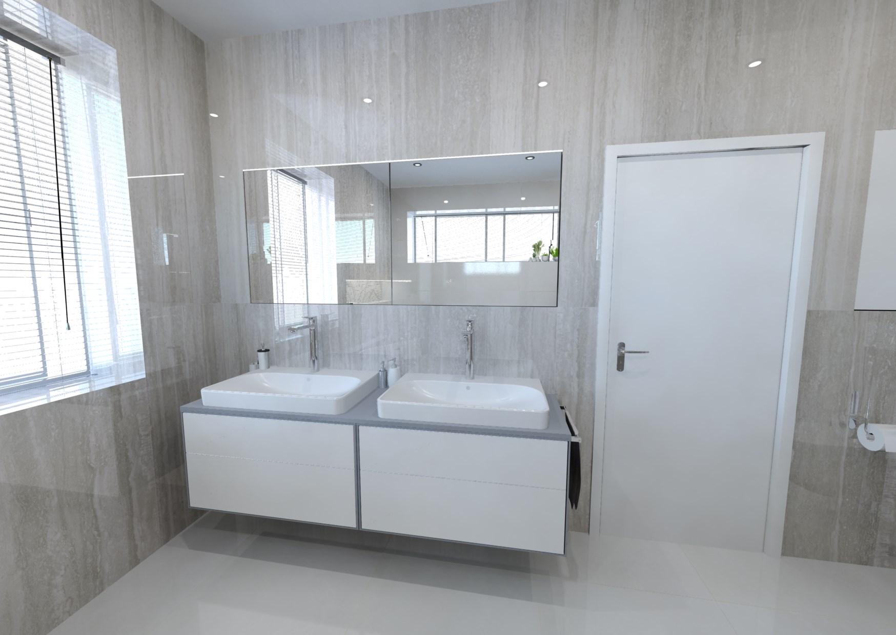 Bílá koupelna 4