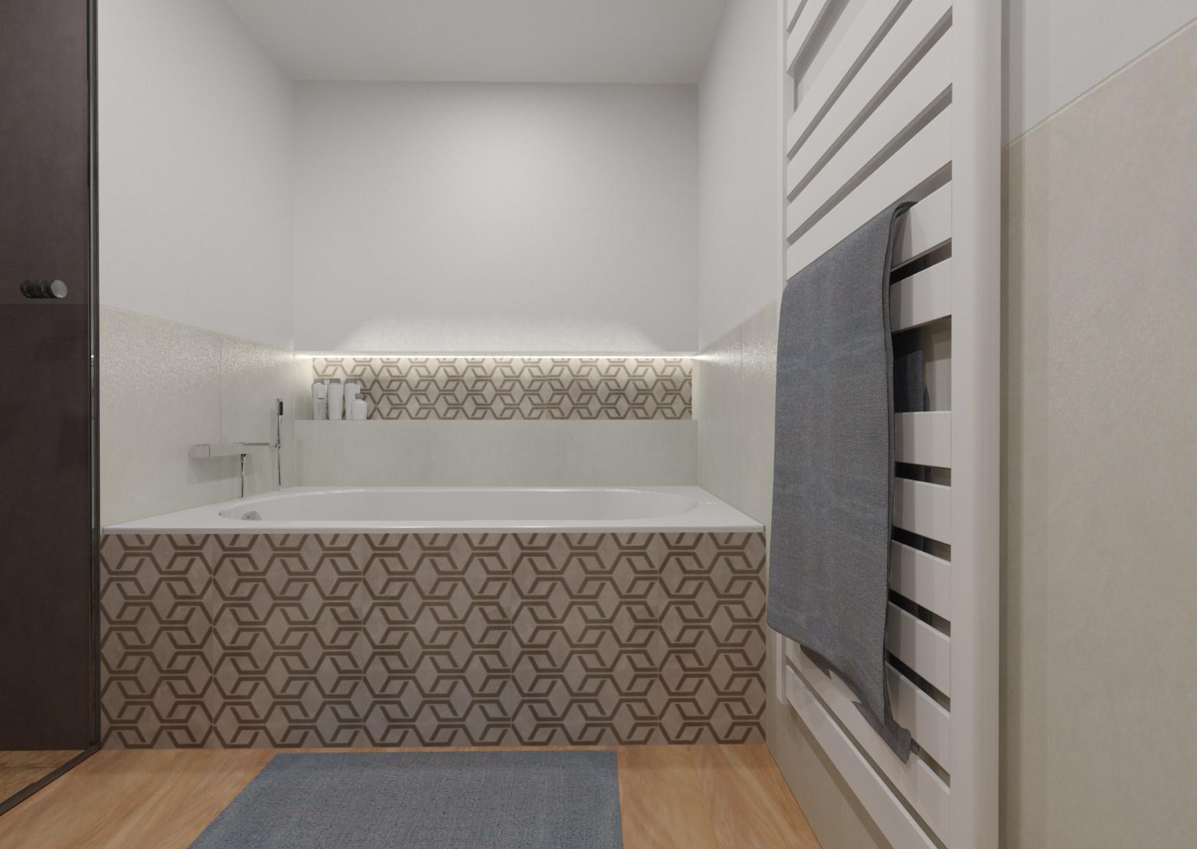 Designová koupelna 1
