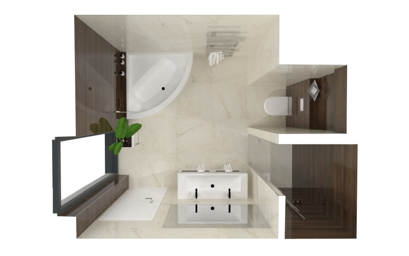 5 tipů pro malou koupelnu 21