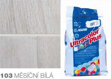 ULTRACOLOR PLUS 103 Mapei hydrofobní spárovací tmel MĚSÍČNÍ BÍLÁ, 5 kg 1