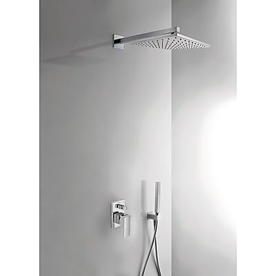 Kompletní sprch.sestava ,hlavová sprcha 300x300mm + ruční sprcha,chrom TRES 0