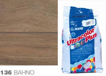 ULTRACOLOR PLUS 136 Mapei hydrofobní spárovací tmel BAHNO, 5 kg 1