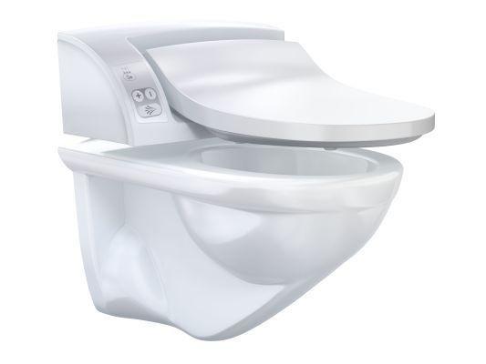 Bidetové sprchovací WC sedátko AquaClean 5000plus GEBERIT s keramikou, alpská bílá 0